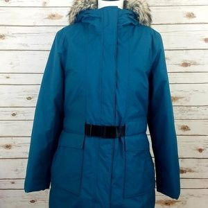 The North Face Parka Jacket Jupiter Teal winter